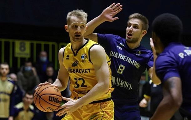 Будівельник вперше в сезоні переграв Київ-Баскет