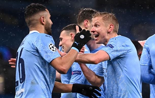 Зинченко помог Ман Сити выйти в финал Лиги чемпионов