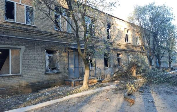 В Донецкой области больница попала под обстрел
