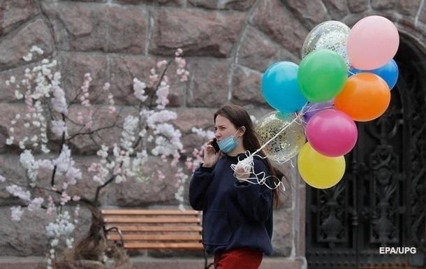 В Киеве апрель оказался холоднее нормы