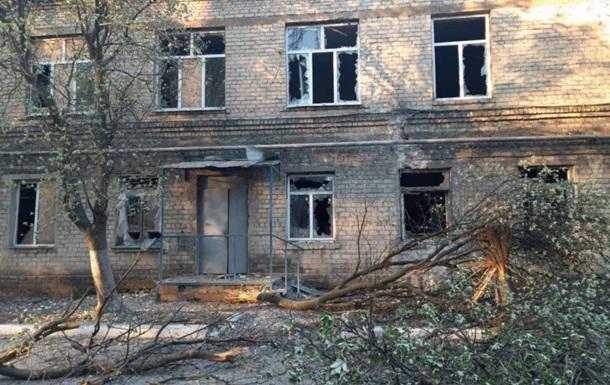 После обстрела в больнице на Донбассе умер пациент