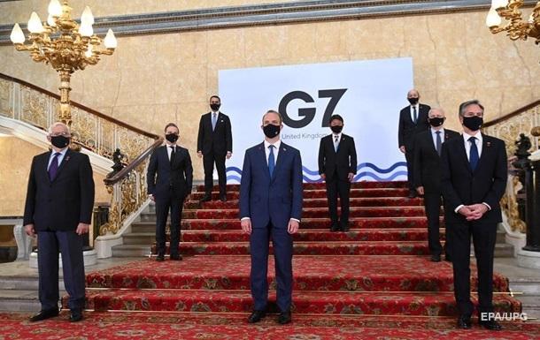 Опубликован итоговый документ по встрече G7