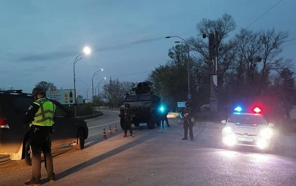 В Киевской области проходят полицейские учения