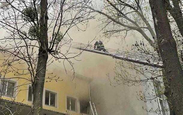 У Вінниці пожежа залишила півміста без інтернету