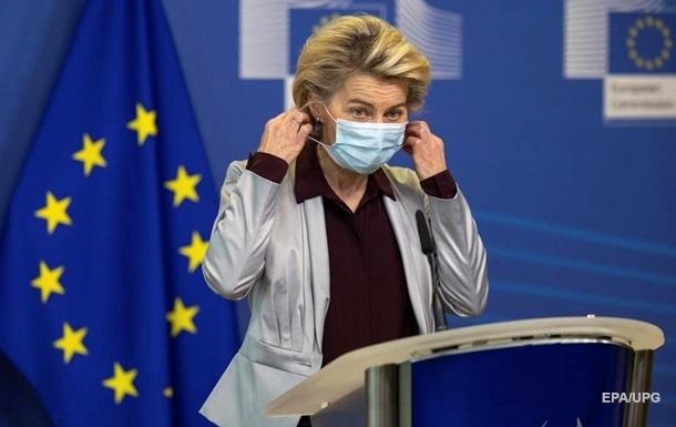 Евросоюз распределил 400 млн доз COVID-вакцин