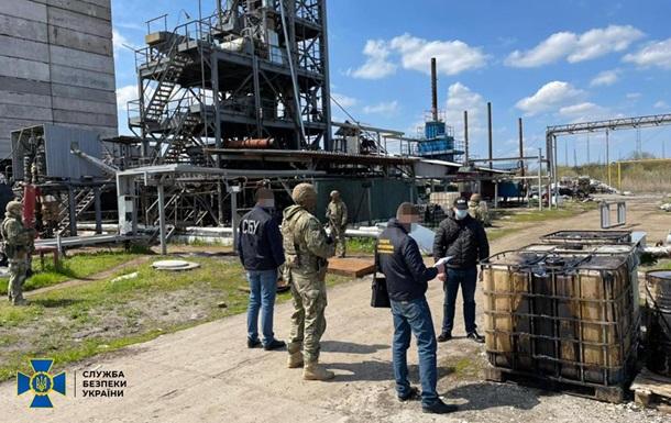 В Днепропетровской области `накрыли` завод дизтоплива