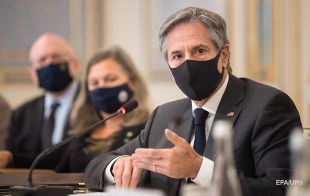 Блінкен оцінив свій візит в Україну