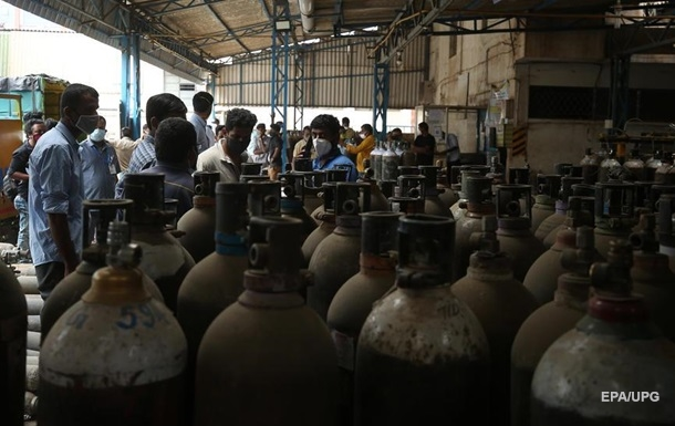 Украина отправит Индии кислород из-за COVID-19