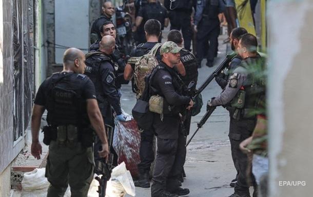 В Бразилии рассказали о перестрелке с 25 погибшими