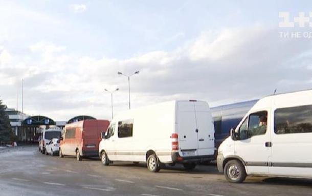 На польской границе скопились сотни авто