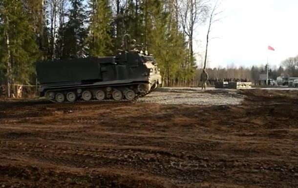 Опубликованы кадры учений НАТО в Эстонии