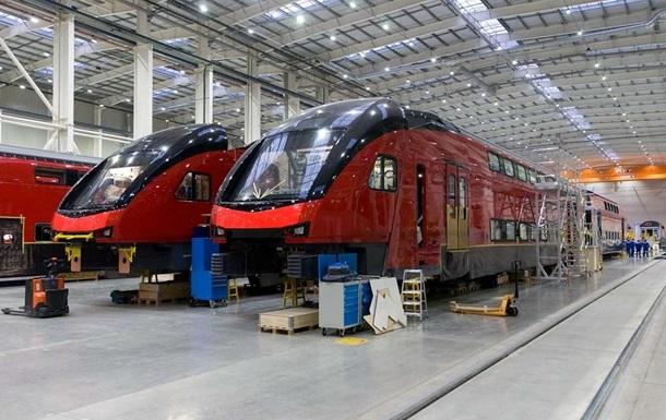 В Украине планируют собирать швейцарские поезда