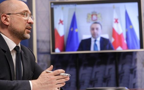 Украина и Грузия восстанавливают сотрудничество