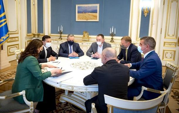 Зеленский встретился с инвесторами из Швейцарии