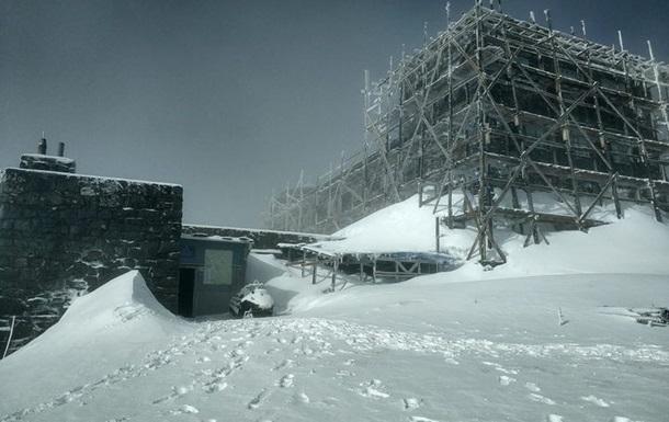 В Карпатах выпало 20 сантиметров снега