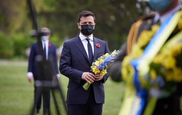 Зеленский выступил с обращением в День памяти
