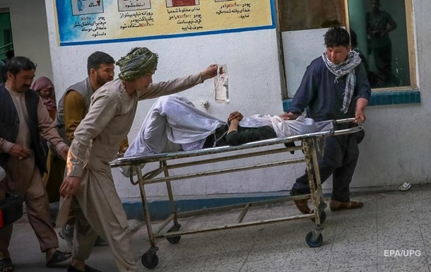 При взрыве у школы в Кабуле погибли десятки человек