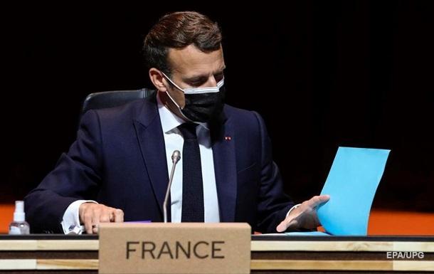 Лидеры ЕС обсудят Россию в конце мая - Макрон