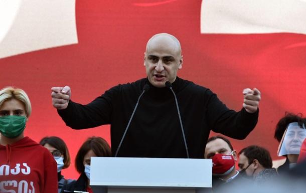 ЕС внес залог за арестованного главу партии Саакашвили