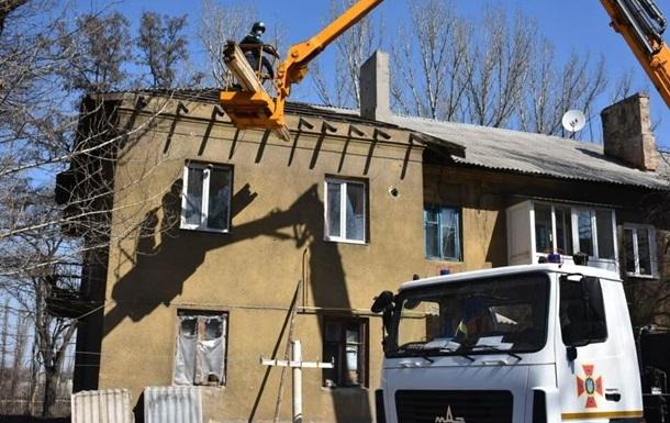 В ГСЧС сообщили, сколько домов отремонтировали в зоне ООС