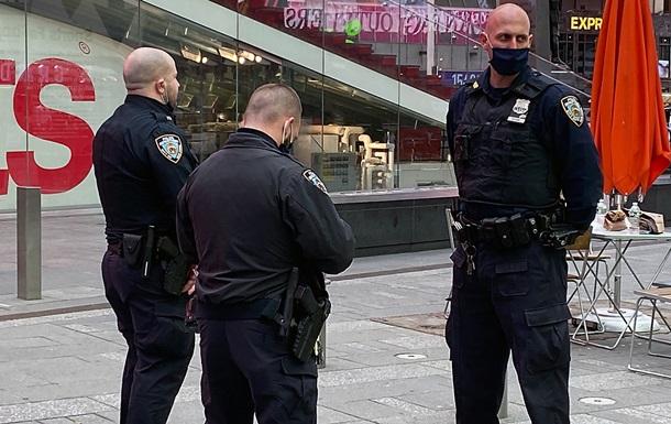 На Таймс-сквер в Нью-Йорке произошла стрельба