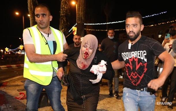 В Восточном Иерусалиме продолжаются беспорядки: пострадали 90 человек