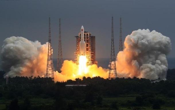 Обломки ступени китайской ракеты упали в Индийский океан