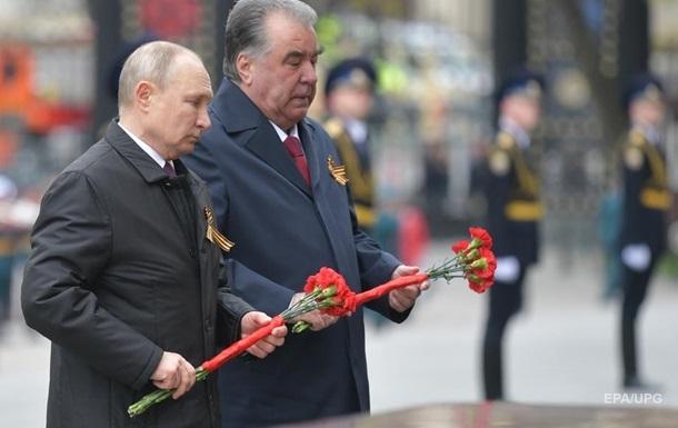 На парад в Москве приехал один зарубежный гость