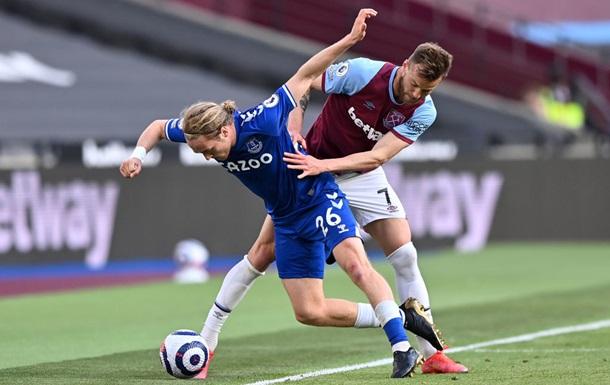 Вест Хэм с Ярмоленко проиграл Эвертону в чемпионате Англии