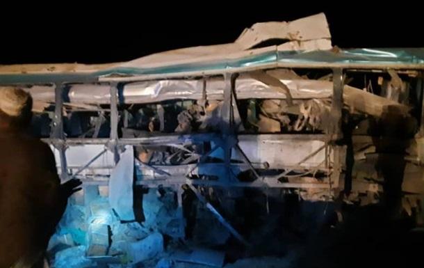 В Афганистане 16 человек погибли при подрыве автобуса
