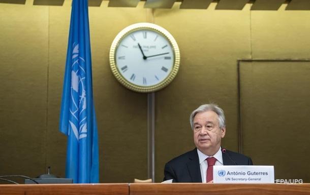 Генсек ООН оценил возможность размещения миротворцев на Донбассе