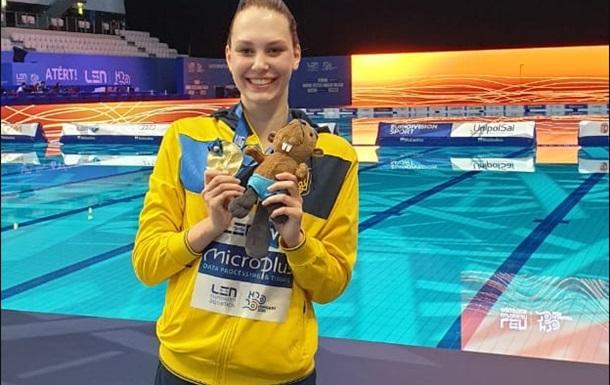 Украинская синхронистка добыла историческое золото чемпионата Европы