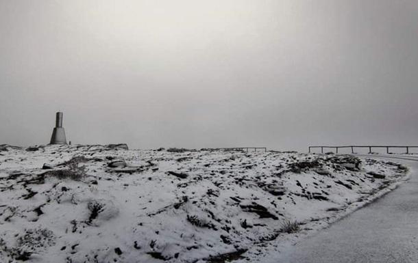 На Португалию обрушился снегопад