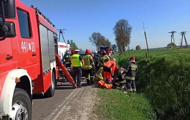 В ДТП с украинцами в Польше погиб ребенок