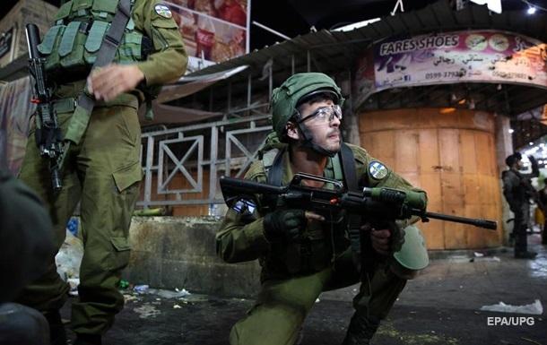 У Хевроні тривають сутички армії Ізраїлю з палестинцями