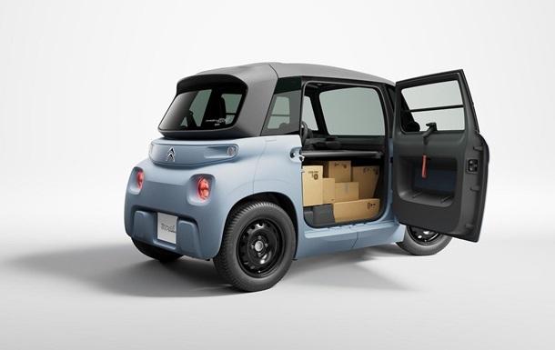 CITROЁN My Ami Cargo: идеальное решение для грузовой микромобильности в городе
