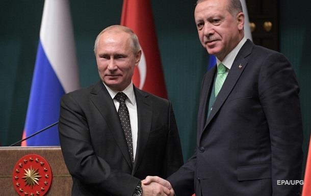 Путин и Эрдоган обсудили обострение израильско-палестинского конфликта