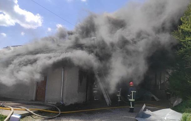 В Ивано-Франковске возник масштабный пожар