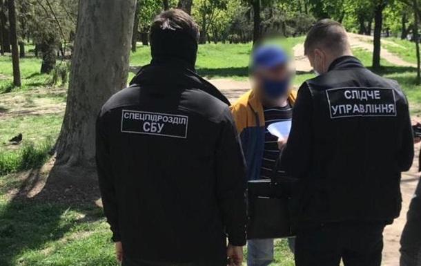 Директор спортшколы на Одесчине погорел на взятке и шантаже