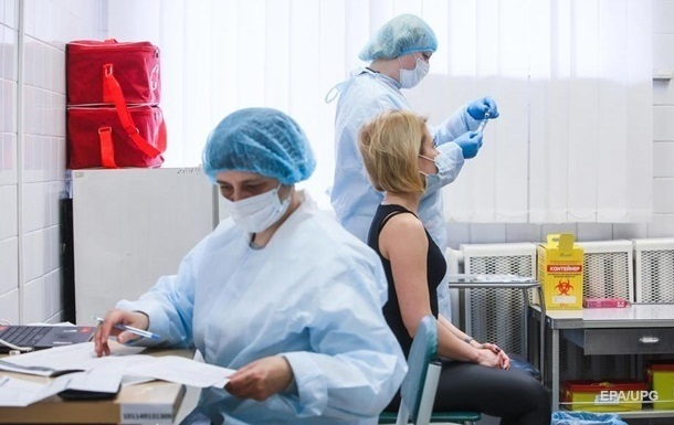 От коронавируса привили более 900 тысяч украинцев