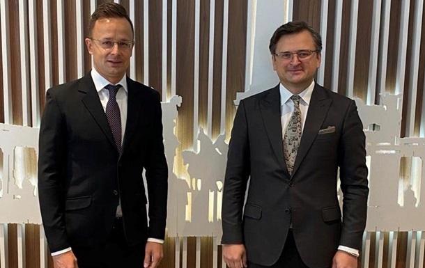 Кулеба рассказал о переговорах с главой МИД Венгрии в Братиславе