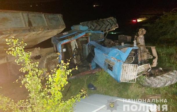 Под Черновцами девочка погибла в ДТП с трактором