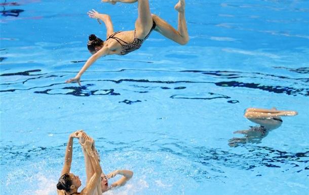 Украина выиграла золото на ЧЕ по артистическому плаванию