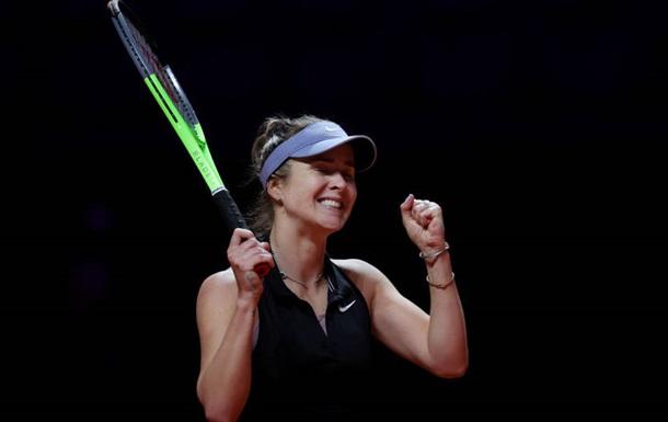 Свитолина вышла в 1/4 финала турнира в Риме, обыграв Мугурусу