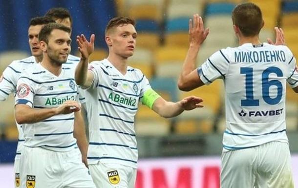 Динамо второй раз в истории оформило золотой хет-трик