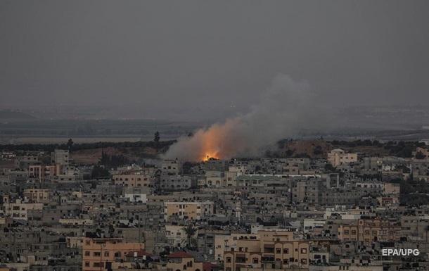 Израиль провел крупнейшую атаку на сектор Газа