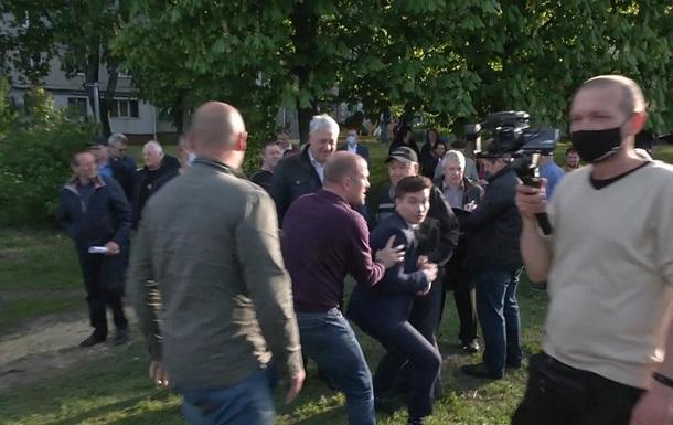 В Харькове охрана мэра напала на журналиста