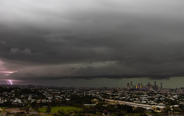 В Австралии молнии ударили 71 тысячу раз