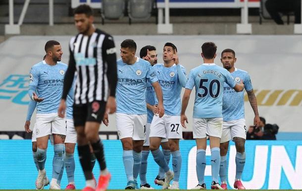 Манчестер Сити без Зинченко с трудом переиграл Ньюкасл
