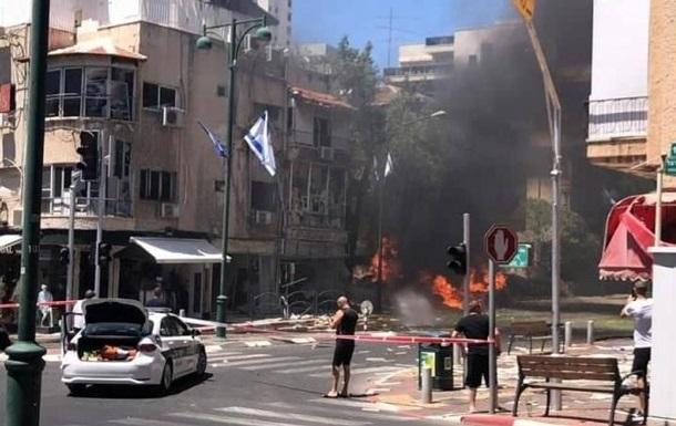 ХАМАС обстреливает Тель-Авив, есть жертвы